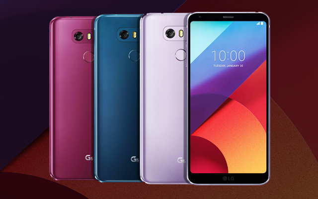 LG announces new G6 and Q6 colour variants
