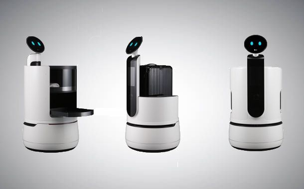 LG Electronics unveil robots to work in supermarkets, hotels and airports
