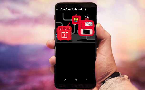 OnePlus Laboratory Feature