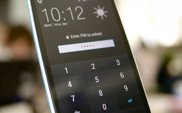 Smartphone Password Security Breach