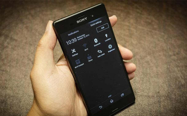 Sony Xperia Issue