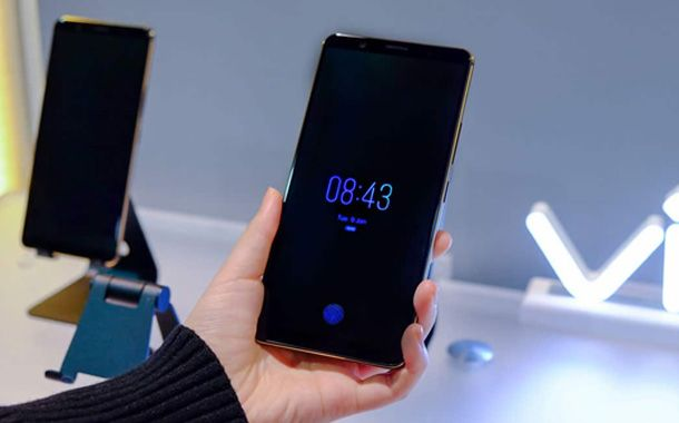 Vivo Indisplay Fingerprint Smartphone
