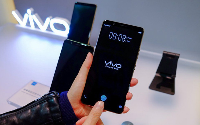 Vivo Smartphone With In-Display Fingerprint Sensor Launches January 24th