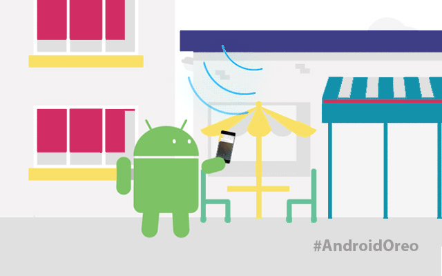 Android Oreo 8.1 Open Wi Fi