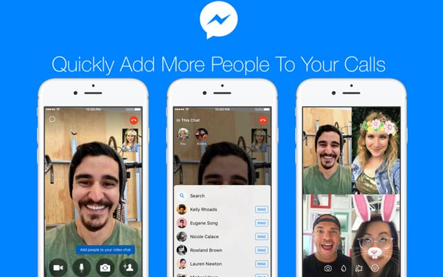 Facebook now lets users add more people to their ongoing Messenger calls