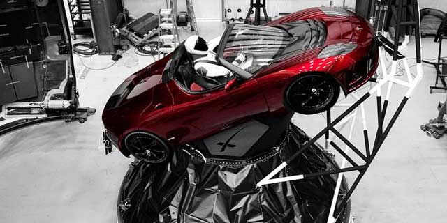 Falcon Heavy Roadster