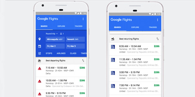Google Flights Predict Delays