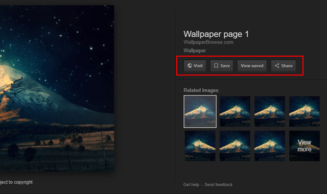 Google removes option to view images on Google Image to respect copyrights