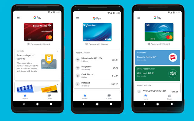 Google Pay Update