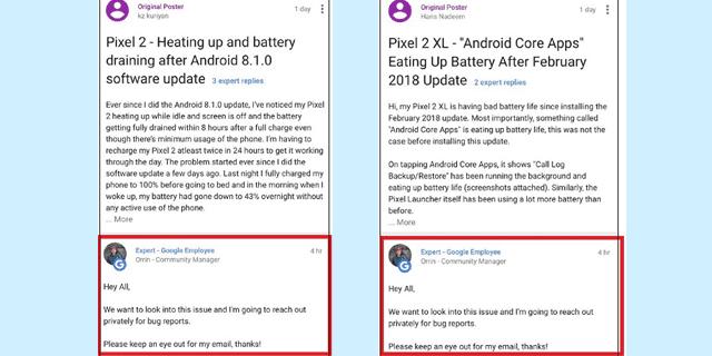 Google Pixel 2 Issues