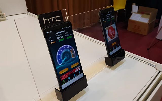 HTC U12 shows up in live photos