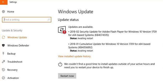 Microsoft Adobe Flash Version