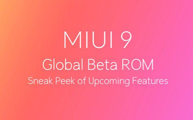 MIUI 9 Update