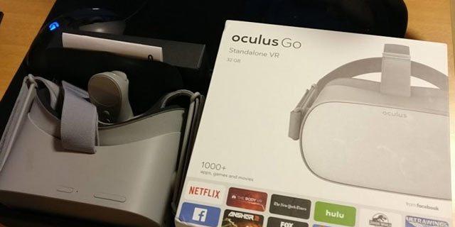 Oculus Go Retail Box