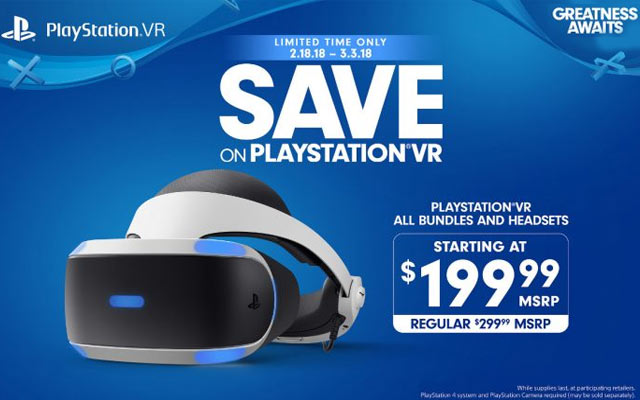 Sony PlayStation VR Deal Brings Bundles Down To $199.99