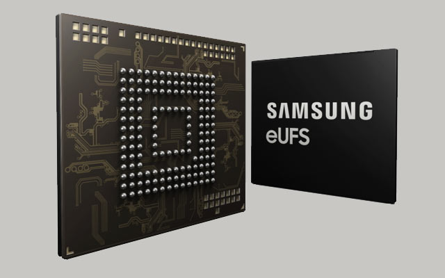 Samsung now mass producing 256GB eUFS for advanced in-car solutions