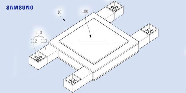 Samsung Motion Sensing Drone