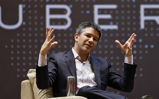 Ex-Uber CEO saw Google founder as a 'brother'