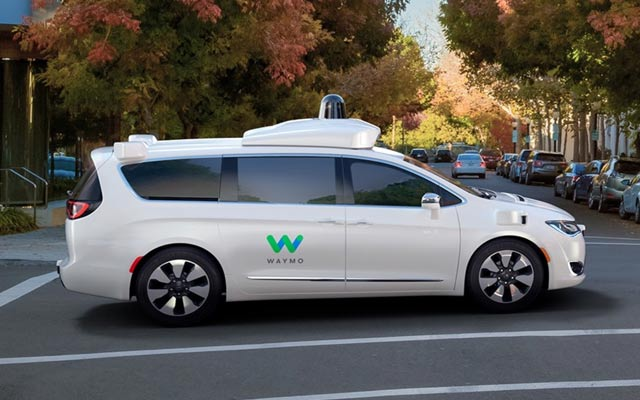 Waymo 360 Degree Video