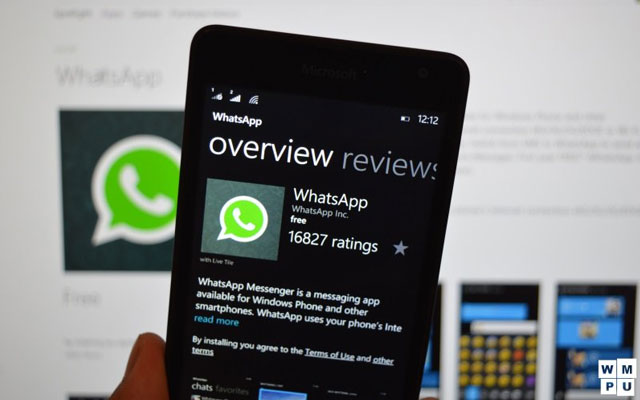 WhatsApp Windows Update