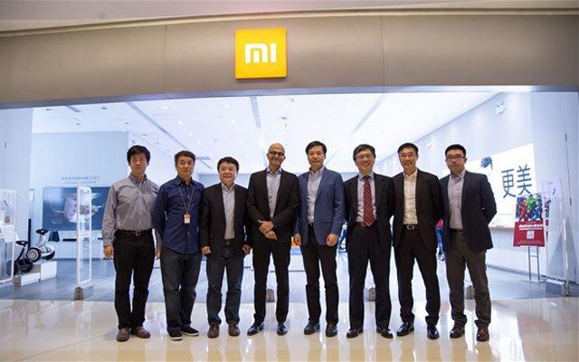 Xiaomi Signs Microsoft MoU