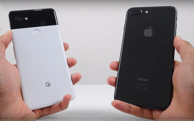 Apple iPhone 8 vs Google Pixel 2 XL