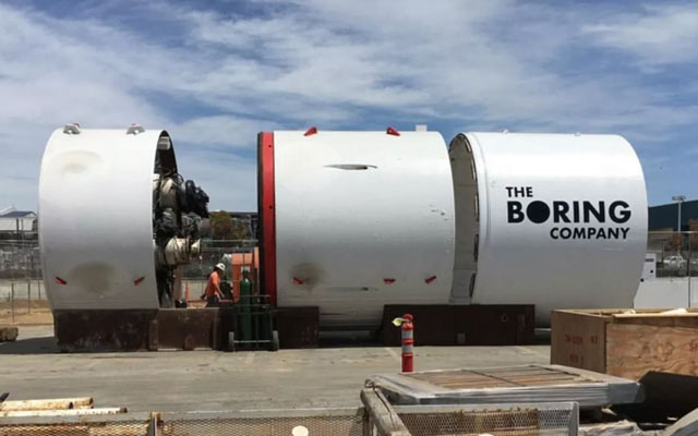 Boring Company New Project
