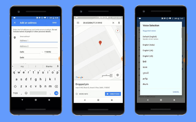 Google Maps gets improvements regarding searching for Indian addresses