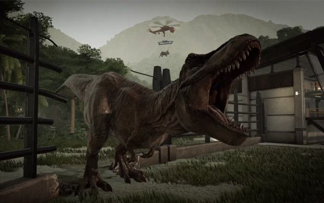 Jurassic World Evolution to release in June, gameplay revealed