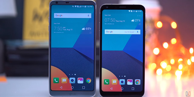 LG Q6 and G6
