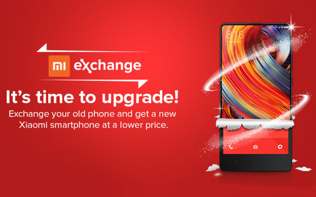 Xiaomi introduces Mi Exchange offer online on Mi.com