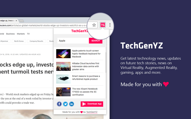 TechGenYZ Chrome Extension