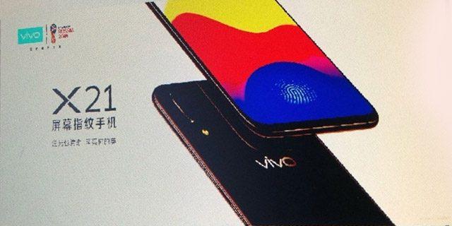 Vivo X21 iPhone Notch