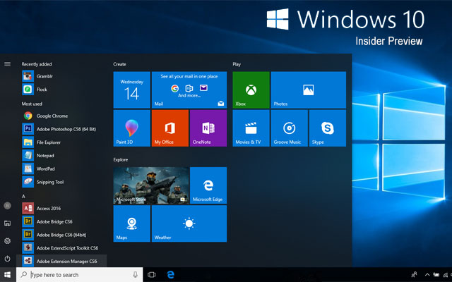Windows 10 Insiders