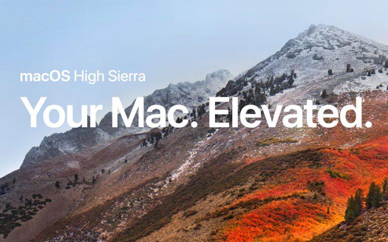 Apple macOS 10.13.4 High Sierra