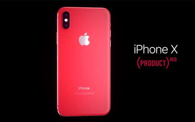 Apple Red iPhone X