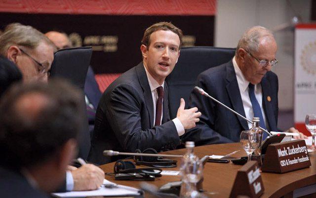 Facebook CEO Testify E&C