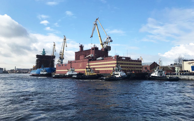 Floating Nuclear Power Unit