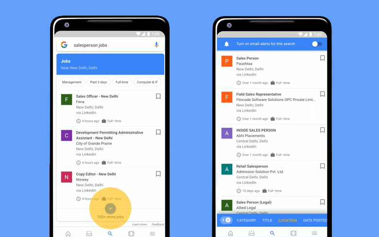 Google India makes job search in the country easier than before