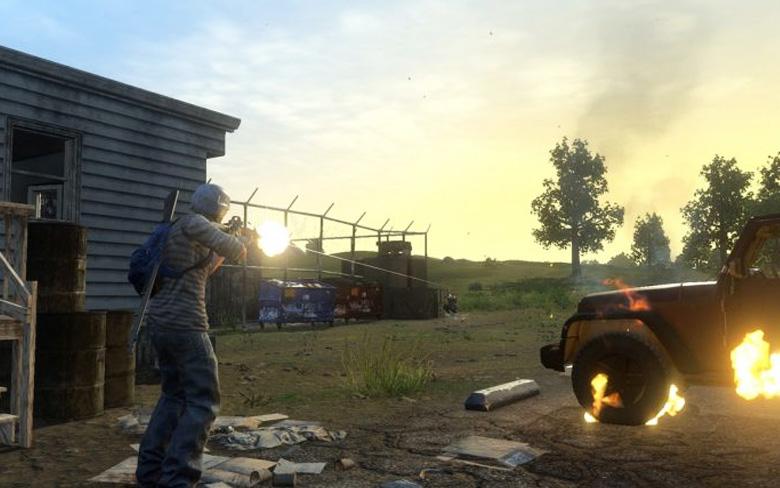 Free PS4 Battle Royale Game H1Z1 Hits Open Beta Next Month