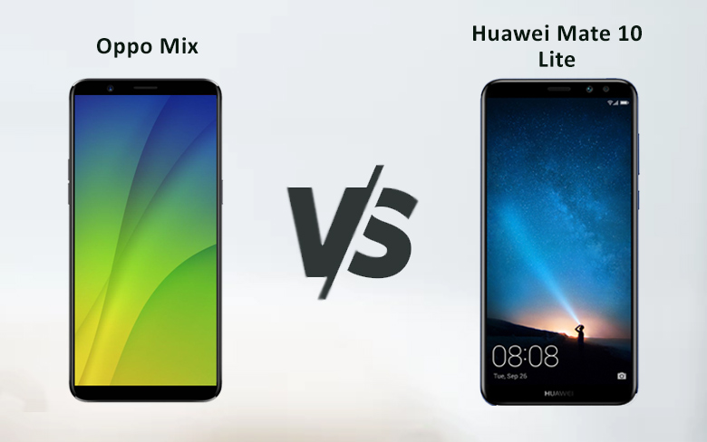 Oppo Mix Vs Huawei Mate 10 Lite