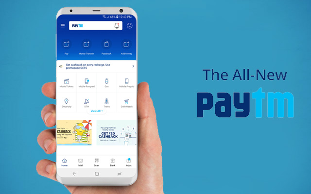 Paytm New Look