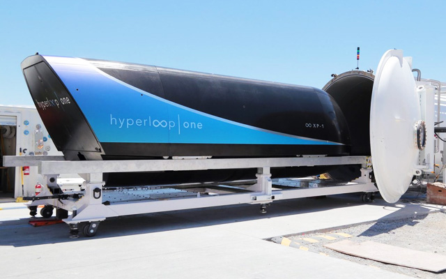 Tesla Hyperloop Test