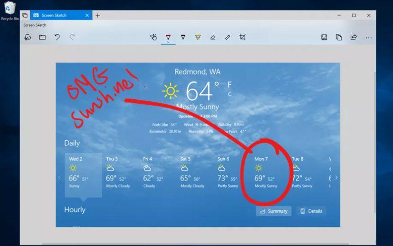 Microsoft Screenshot Tool