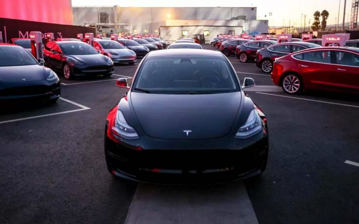 Tesla Model 3 Electric Sedan