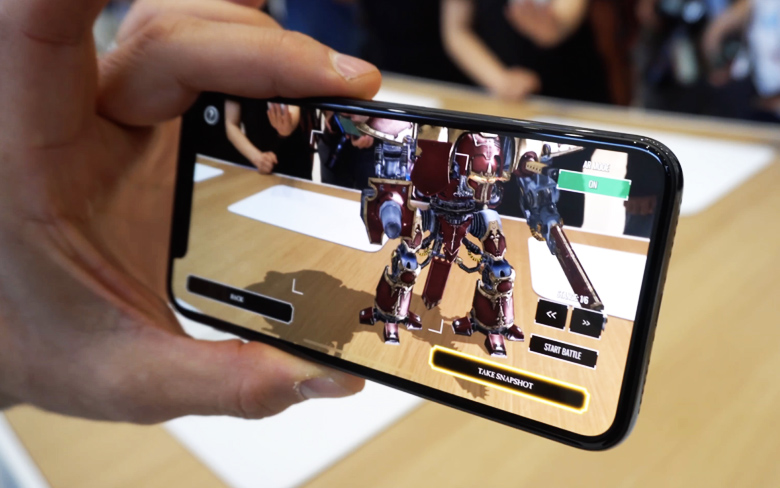 Apple Phone-to-Phone AR