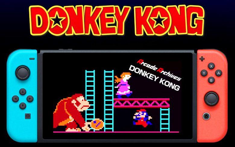 Donkey Kong Arcade Games