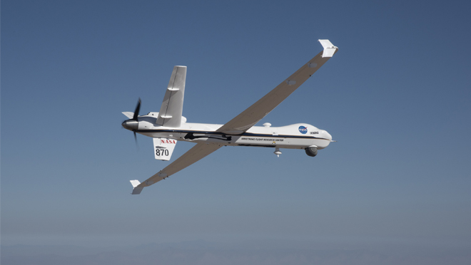 NASA Flies Unmanned Aircraft