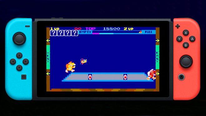 Nintendo Arcade Retro Games