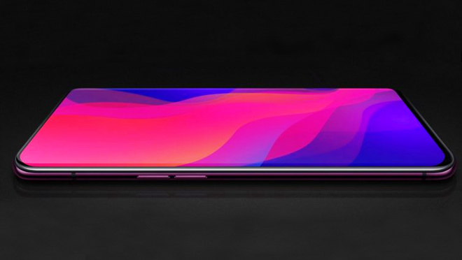 Oppo Find X Rimless Phone